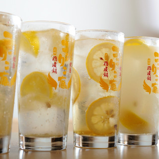 こだわりのレモンサワーや生ビールがハッピーアワーでお得に♪