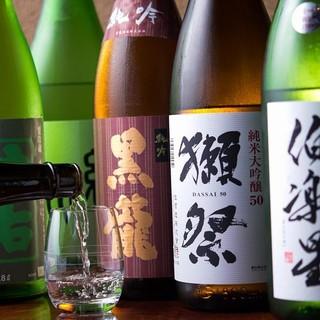 ATARIのこだわり日本酒を堪能