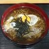 ダイニングYAYA - 料理写真:月見そば450円ネギ抜き