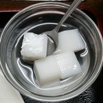 中華料理 鴻運楼 - 杏仁豆腐