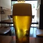 キッチン櫻庭 - 1杯目の生ビール