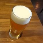 キッチン櫻庭 - 2杯目の生ビール