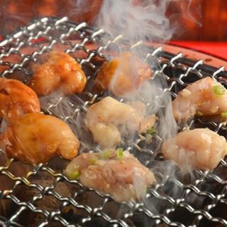 ★七輪で炭火焼き♪炭火で焼けば食べたら分かる美味いやつやん!