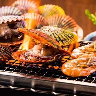 夏にはヒオウギ貝の浜焼きがオススメ☆