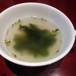 10871433 - ライスについてくるスープ