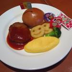 108712094 - おこさまハンバーガー430円(税込)