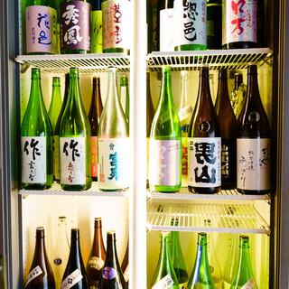 特別なお米にはこだわりの純米酒がぴったり◎飲み放題あります!