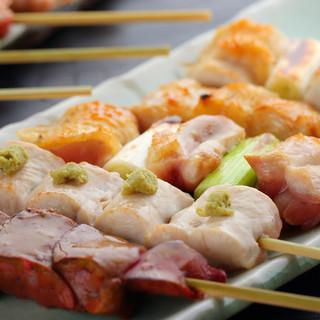 日本が誇るブランド鶏「秋田県産比内地鶏」を使用