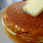 代官山パンケーキカフェClover's - プレーンパンケーキ