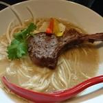 麺処 夏海 - 料理写真:限定子羊ラム白湯ら~めん 1100円