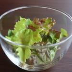 創作料理 薫風湘南 - レタスミックスのサラダアップ