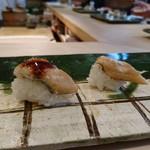 鮨處つの田 - 穴子 タレと塩(19-05)