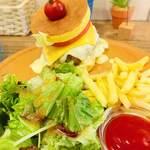 UZU - フレッシュサラダ。