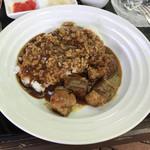 ザ・サイプレスゴルフクラブレストラン - ●和牛のクラッシックビーフカレー¥1450税別       サラダ付き