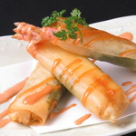 Uo - 海老チーズ春巻き