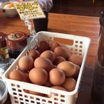 徳島ラーメン人生 - 生卵は無料です。