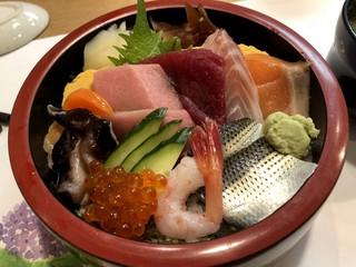 澤鮨 - 海鮮丼 上 1500円