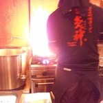 札幌 炎神 - 調理風景