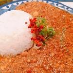 108732660 - 肉カレー(カツオキーマ)③