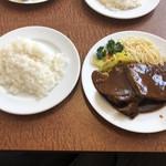 フライヤ - 料理写真:タンシチュー ライス