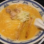 ラーメン 味鶏 - 特濃味鶏ラーメン 830円