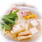 そばよし - 料理写真:ちゃんこ鍋(味噌)