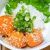 真面目焼鳥 助平 - 料理写真:卵黄の醤油漬け