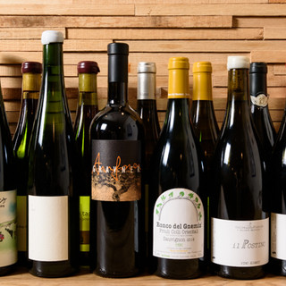グラスでもお楽しみ頂けます◆北イタリア中心に揃えるワイン