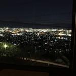 10874351 - 夜の甲府盆地の夜景