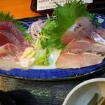 須崎魚河岸 魚貴 - 地魚お刺身定食