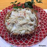 美味いもん屋 わ多なべ - 料理写真:北海道産の毛蟹 剥き身甲羅詰