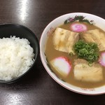 山為食堂 - チャーシューメン、ライス