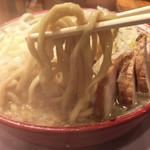 108743217 - ゴワゴワ極太麺