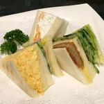 サンドウィッチ ルマン - 料理写真:サンドセット