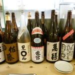 串カツ 田中 - お酒類