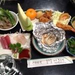 食事 きく川 - 料理写真:コース料理 きく川