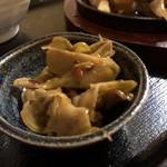 モンゴルレストラン郷 - 鉄板牛肉セット お漬物