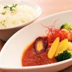 ビストロ アスリート with カムラッド - 東京野菜ゴロゴロ♪スープカレー