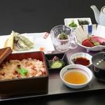 日本料理 ぎん - 真蛸と新生姜の炊き込みご飯