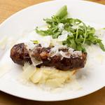 【夏季限定】自家製サルシッチャとペコリーノロマーノのマッシュポテト