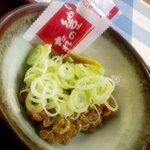 中野屋食堂 - 納豆