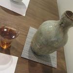 蕎麦 高しま - 冷酒「赤武」