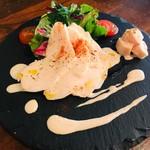 宮崎はまゆう鶏ムネ肉の冷製~トンナートソース~