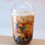 萃茶スイチャ  - 沖縄黒糖虎丸ラテ