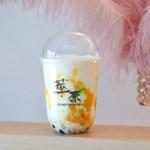 萃茶スイチャ  - マンゴータピオカラテ