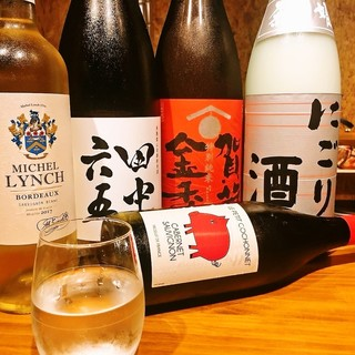 酒と焼肉!日本酒も常時10種ご用意!