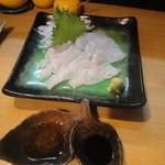 10877447 - 「真鯛刺身」(750円)