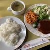 ダンケ - 料理写真:タイムランチのハンバーグ。