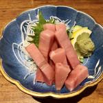 ニコ フラワーガーデン -  一人一皿のトロ刺身   380円!!