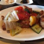 魚とワインとイタリアン リバーカフェ - 料理写真:唐揚げは同じやね